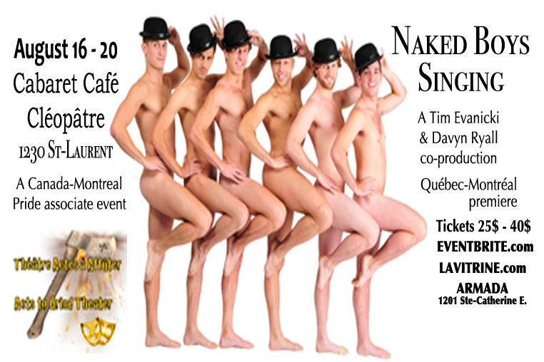 BWW Previews: NAKED BOYS SINGING at Cabaret Café Cléopâtre