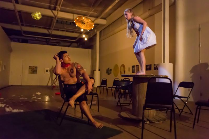 BWW REVIEW: Dirt [Contained] Explores the Pain of Freedom in Fernando Arrabal's GARDEN OF DELIGHTS