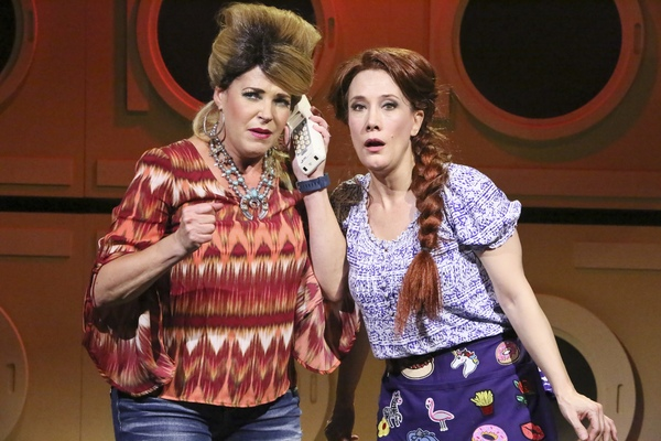 "Misty Cotton and Bets Malone star in the Los Angeles premiere of ""HONKY TONK LAUNDRY,"" written and directed by Roger Bean and now playing at the HUDSON MAINSTAGE THEATRE in Hollywood."