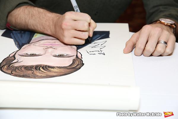 Photo Coverage: Sardi's Unveils Portrait of BANDSTAND's Corey Cott