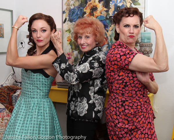 Laura Osnes, Elinor Otto and Beth Leavel