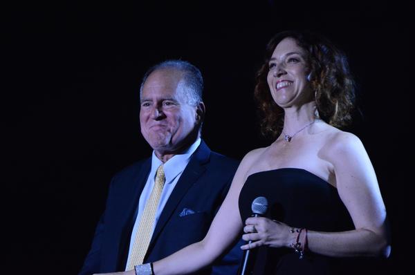 Craig Schulman and Rebecca Pitcher