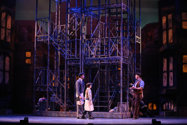 Photo Flash: Extra, Extra! NEWSIES Hits Wichita