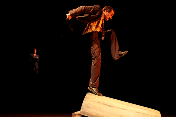 Toni Morkel and Andrew Buckland in TOBACCO