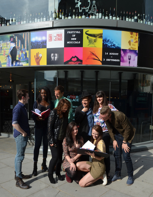 Photo Flash: FROM PAGE TO STAGE Opens At The Other Palace