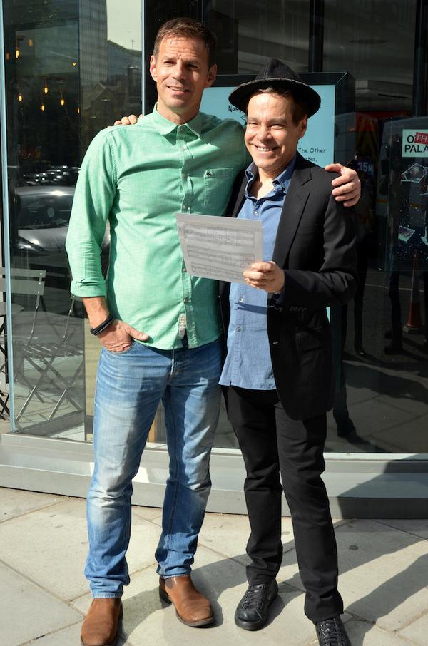 Ben Richards and Steven Satar Photo