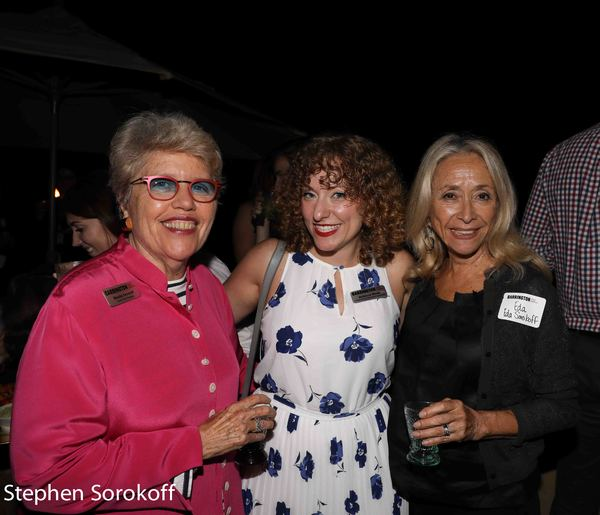 Rosita Sarnoff, Rebecca Weiss, Eda Sorokoff