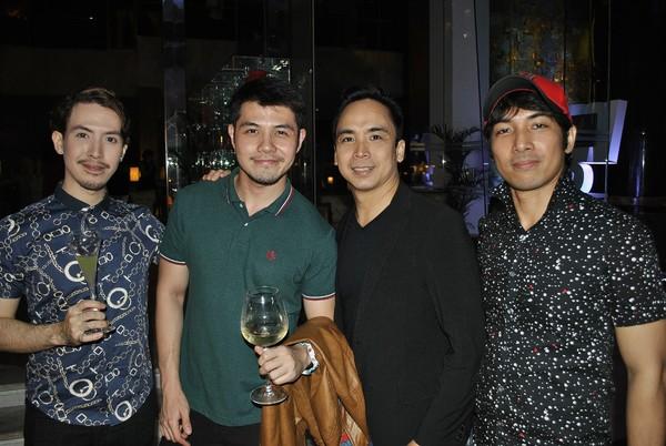 Fred Lo, Chino Veguillas, Francis Matheu