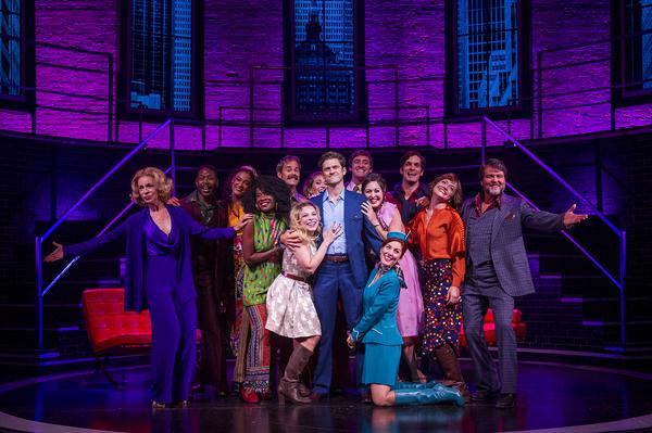 The cast of COMPANY at Barrington Stage Company
