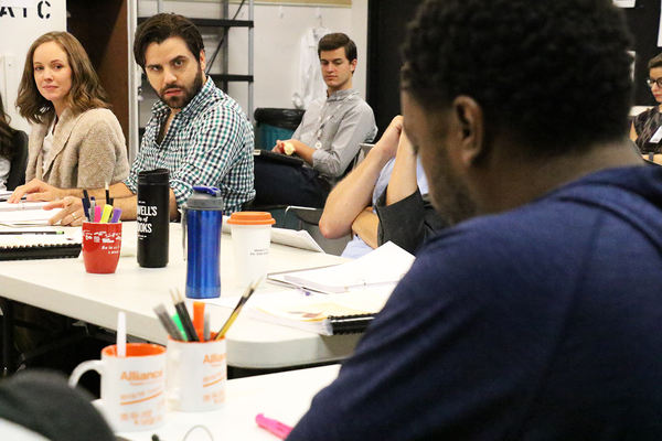 Photo Flash: Sneak Peek Inside Rehearsal for SHAKESPEARE IN LOVE at the Alliance Theatre