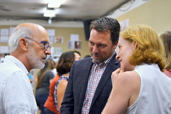Richard Garner, Doug Shipman, and  Susan V. Booth