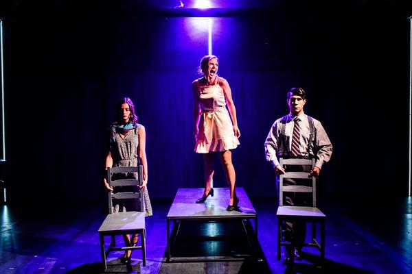 Maddie Burke, Heather Chrisler and Scott Shimizu Photo