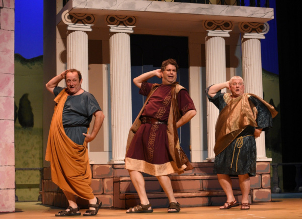 Photo Flash: Sondheim's Riotously Funny FORUM Opens at the Croswell