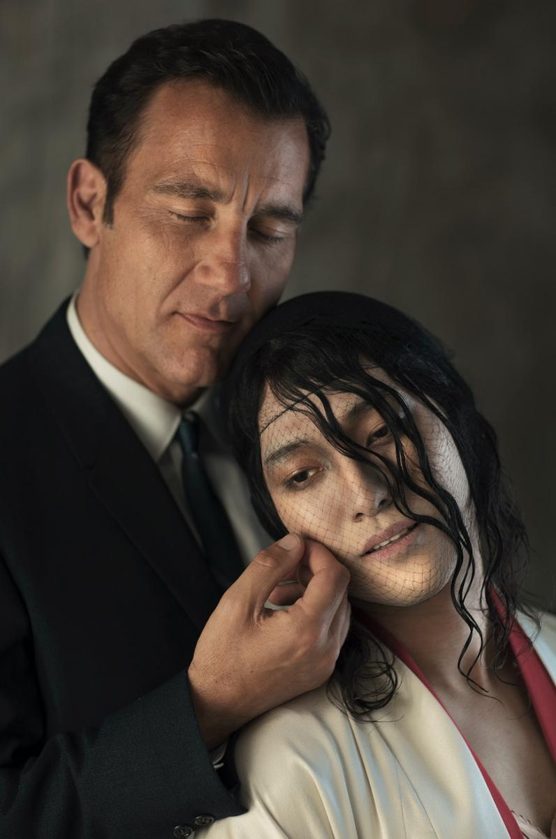 Clive Owen and Jin Ha Photo Credit: Josef Astor