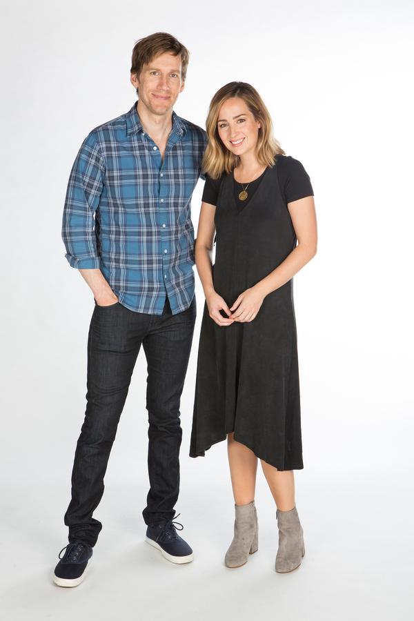 Andrew Samonsky and Hannah Elless
