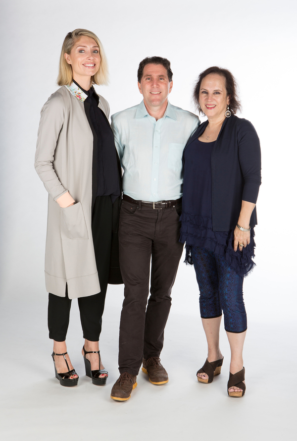 Kirsten Guenther, Nolan Gasser, and Mindi Dickstein