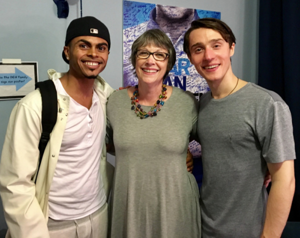 Patricia Hoag Simon has coordinated the Music Theatre Program at Marymount Manhattan College for 27 years! What a thrill to have been there at the beginning for alums Annaleigh Ashford, Adrienne Warren, Jason Gotay, Emmy Raver Lampman and these gents