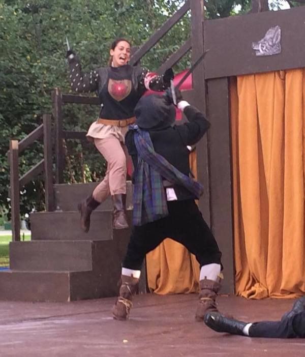 Photo Flash: Hip to Hip Theatre Company Enters Final Week of Performances