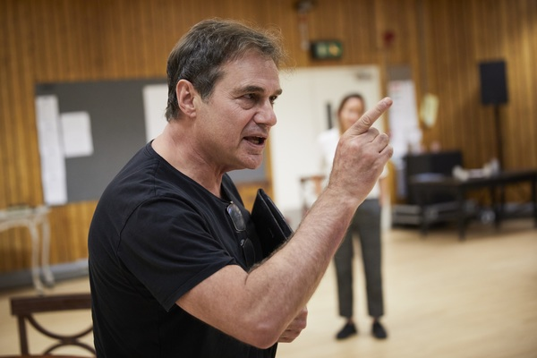 Photo Flash: In Rehearsals for OSLO at National Theatre