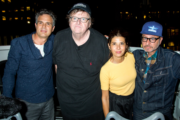 Mark Ruffalo, Michael Moore, Marisa Tomei, Fisher Stevens