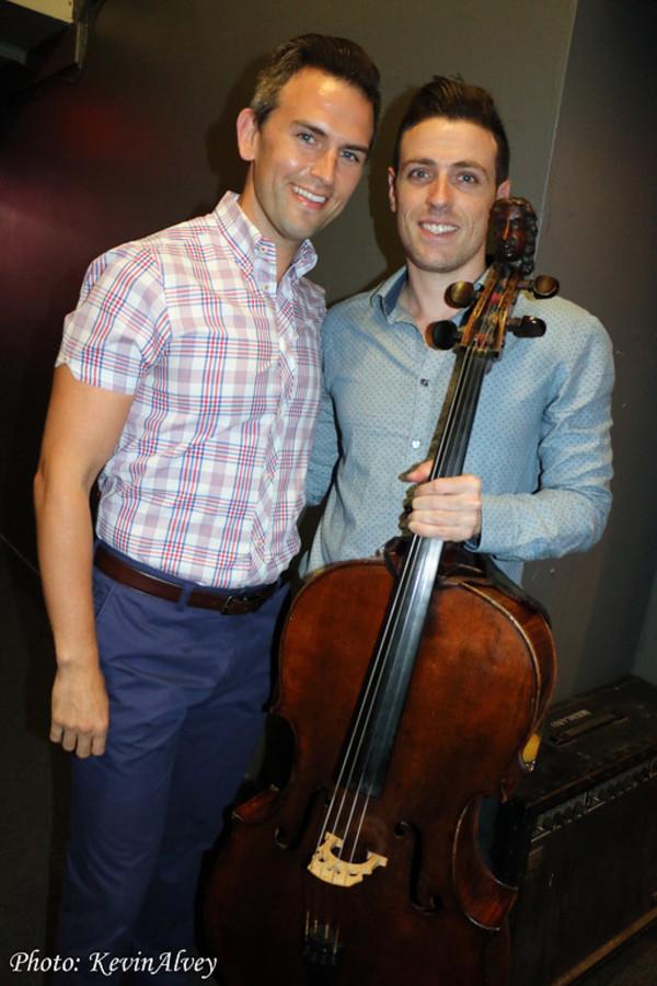 Daniel Reichard and Elad Kabilio
