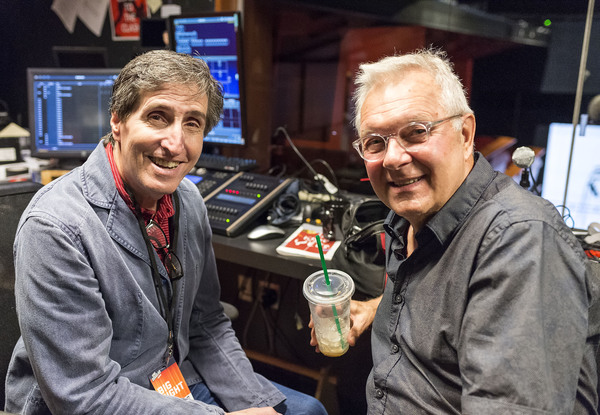 Playwright Paul Rudnick and director Walter Bobbie Photo