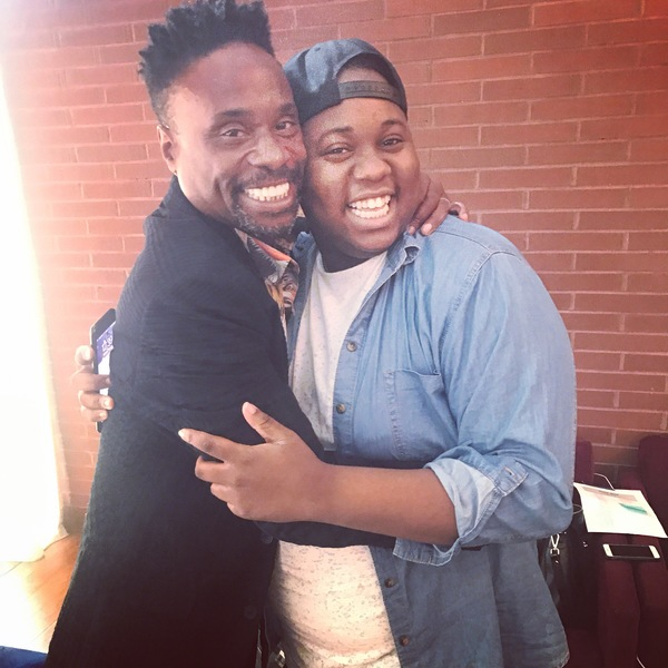 Billy Porter and Alex Newell