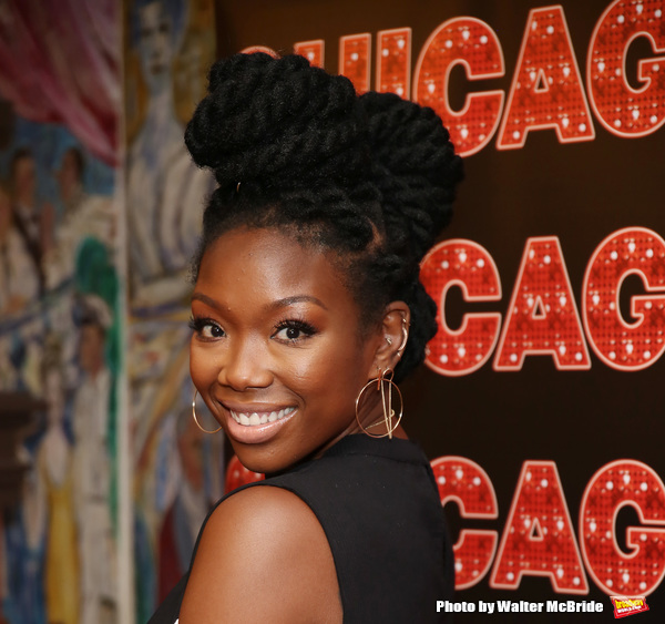Photo Coverage: Brandy Norwood Gets Ready to Take on Roxie Hart!