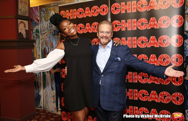Brandy Norwood and Producer Barry Weissler