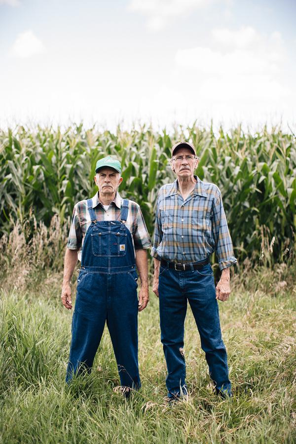 Bill Hutson and Cork Ramer