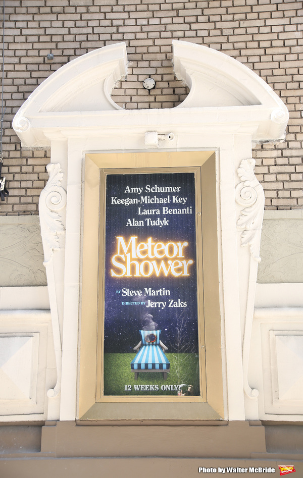 'Meteor Shower' directed by Jerry Zaks and starring Amy Schumer, Keegan-Michael Key,  Photo