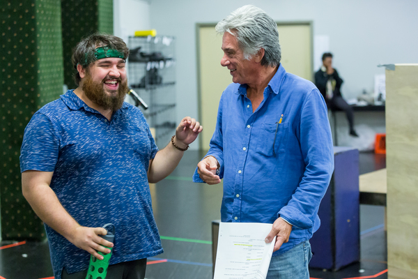 Photo Flash: ROCK OF AGES Enters 'The Final Countdown' in Rehearsal at Drury Lane
