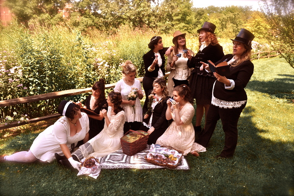 Photo Flash: Sneak Peek - Improvised Jane Austen to Make Merry for Michaelmas