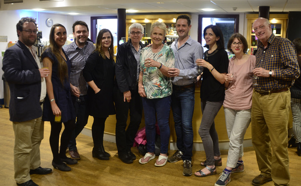 Photo Flash: The Cast of REMARKABLE INVISIBLE at Theatre by the Lake Celebrate Opening Night