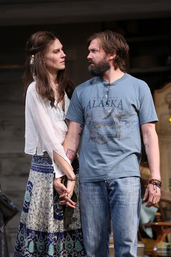 Anna Crivelli and Shawn Fagan