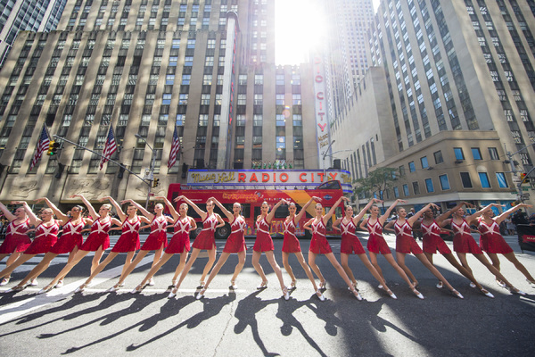 The Rockettes officially kick off the 2017 Radio City Christmas Spectacular season with the annual 'Christmas in August' event.