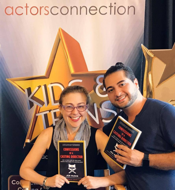 Director Walid Chaya invites Casting Director Jen Rudin for a master class and book signing for Rudin's book, Confessions of a Casting Director.