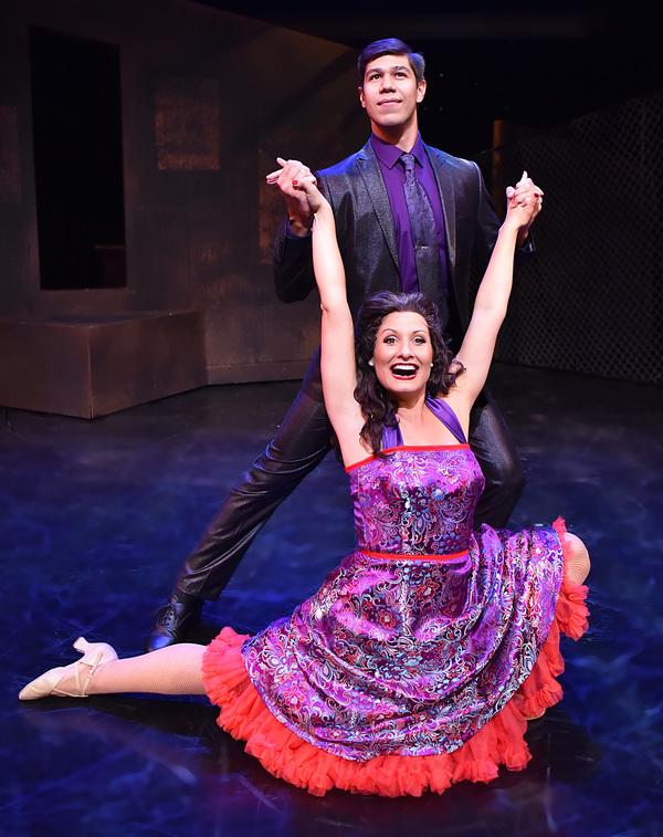 Bernardo (Dan Higgins) and Anita (Marisa Rivera) dance together