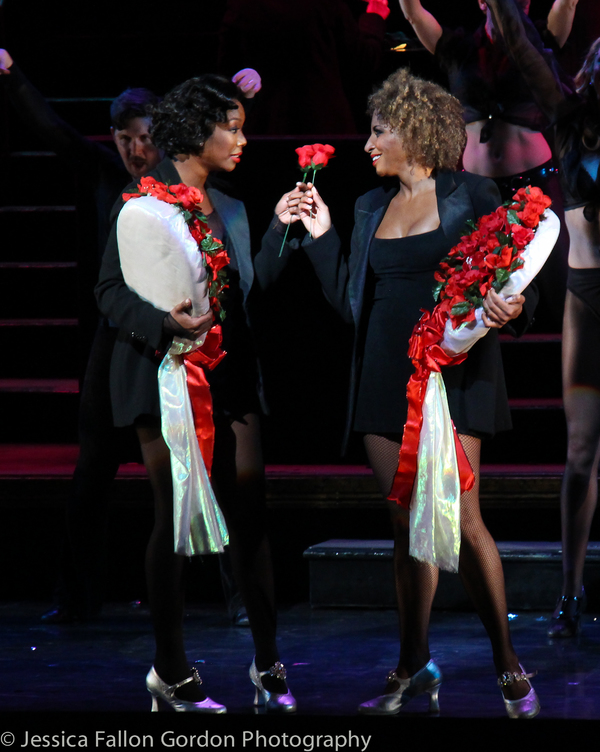 Photo Coverage: Brandy Takes First Bows in CHICAGO!