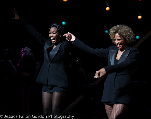 Brandy Norwood and Lana Gordon Photo