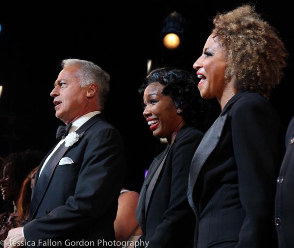 Tom Hewitt, Brandy Norwood and Lana Gordon
