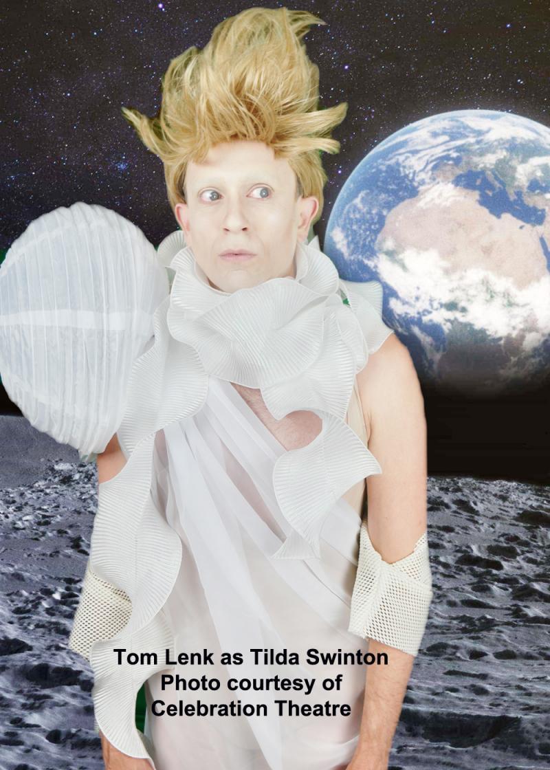 BWW Review: Tom Lenk IS Tilda Swinton in Byron Lane's Hysterical TILDA SWINTON ANSWERS AN AD ON CRAIGSLIST