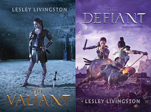 Reviewing THE VALIANT by Lesley Livingston, now in development for a series on THE CW!