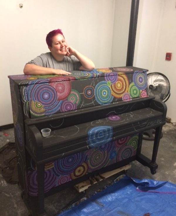 Photo Flash: Sneak Peek - Play Me Again Pianos to Host Ribbon Cutting for 10th Public Piano in Metro Atlanta