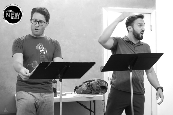 Photo Flash: In Rehearsal with Marissa Jaret Winokur, Ryan O'Connor and More for A LITTLE NEW MUSIC