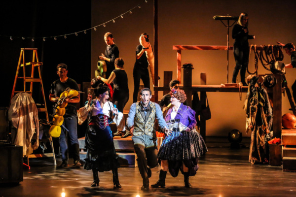 Photo Flash: First Look at JAMES AND THE GIANT PEACH at The Barn Stage Company