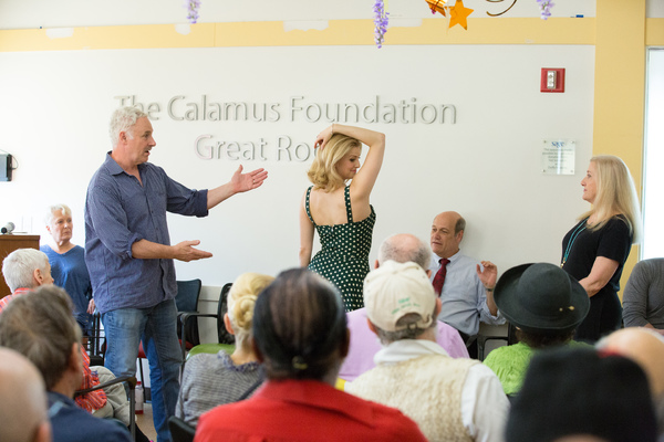 Photo Flash: WAR PAINT Cast Members Perform for Seniors at Services & Advocacy for GLBT Elders in Midtown