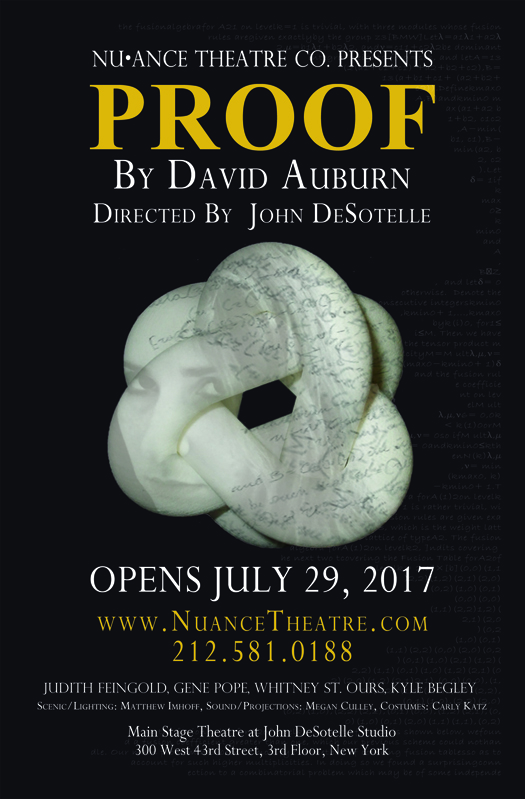 BWW Review: The Theoretical Existence that is Nu•ance Theatre Co.'s PROOF