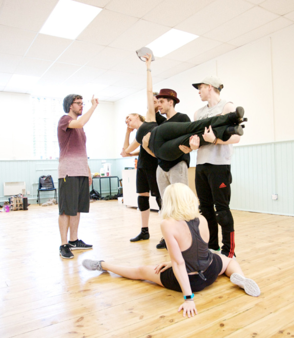 Photo Flash: In Rehearsal with London Fringe Premiere of 9 TO 5 THE MUSICAL