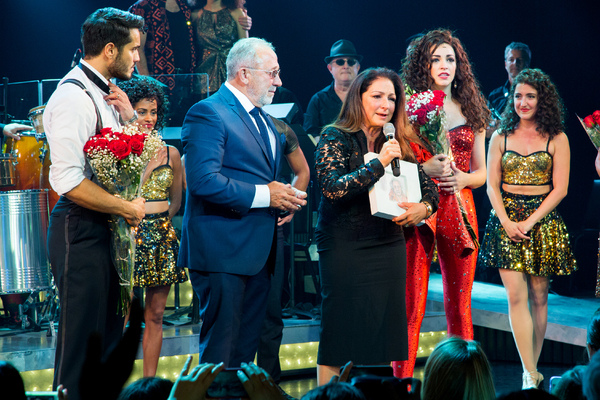 Ektor Rivera, Emilio Estefan, Gloria Estefan, Ana Villafane